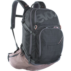 EVOC Explr Pro Mochila Technical Performance 26l, carbon grey/dusty pink